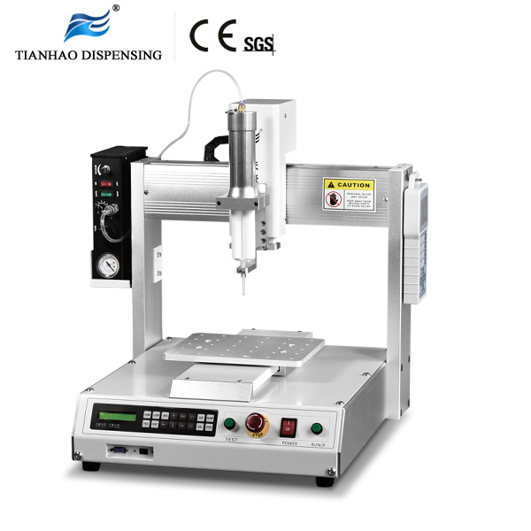 Benchtop Dispensing Robot for 50ml Dual Cartridge Packing ab Glue