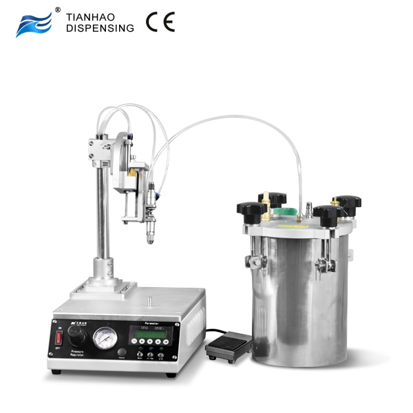 Rotary Table Benchtop Robot for Dispensing Circular Beads