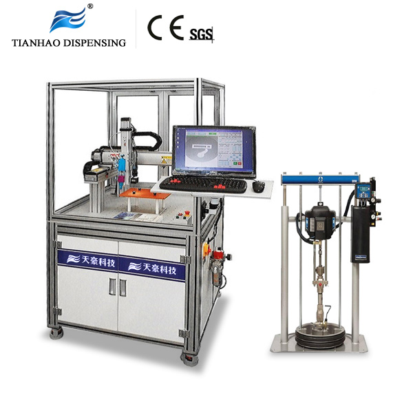 3 Axis Gantry robotic dispensing System for high viscosity silicon